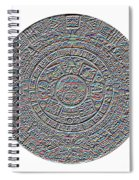 Mayan Calendar Spiral Notebook