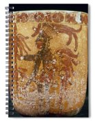 Mayan Priest 700-900 Ad Spiral Notebook