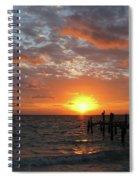 Mayan Riviera Sunrise Spiral Notebook
