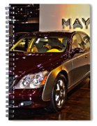 Maybach Limo Spiral Notebook