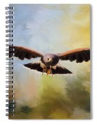 Maybe - Hawk Art Spiral Notebook