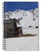 Mayflower Gulch Winter 3 Spiral Notebook