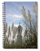 Mayflower Memorial Through The Pampas Grass Spiral Notebook