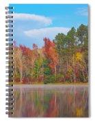 Mayor's Pond, Autumn, #4 Spiral Notebook