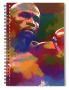 Mayweather Watercolor Spiral Notebook