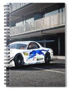 Mazda Rx-7 Spiral Notebook