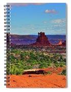 Maze Standing Rocks Spiral Notebook