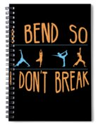 Mb 1142 Fitness Bend Dont Break 500 Spiral Notebook