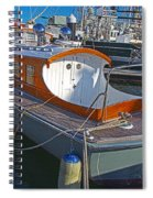 Mb 172 Epic Lass In Darling Harbour Spiral Notebook