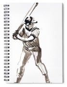 Mbl Batter Up Spiral Notebook