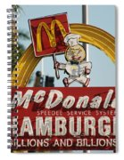 Mc Donalds Spiral Notebook