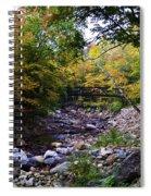 Mcarthur Bridge Over The Roaring Branch Spiral Notebook