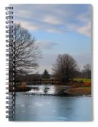 Mcbride Arboretum Winter Morning Spiral Notebook