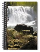 Mccloud Middle Falls Spiral Notebook