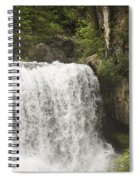 Mccloud Upper Falls Spiral Notebook