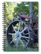 Mccormic Deering Farm Tractor   # Spiral Notebook