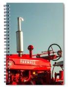 Mccormick-deering Farmall M Spiral Notebook