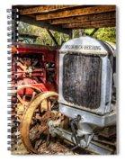 Mccormick Deering Tractors II Spiral Notebook