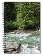 Mcdonald Creek Panorama Spiral Notebook