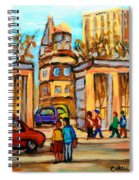 Mcgill Roddick Gates Spiral Notebook