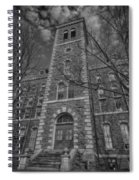 Mcgraw Hall - Bw Spiral Notebook