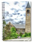 Mcgraw Tower Cornell University Ithaca New York Pa 10 Spiral Notebook
