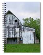 Mcgregor Iowa Barn Spiral Notebook