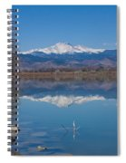 Mcintosh Lake Reflections Spiral Notebook