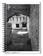 Mcintosh Sugar Mill Tabby Ruins Arch Spiral Notebook