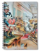 Mckinley Tariff Act, 1894 Spiral Notebook