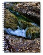 Mckinney Falls State Park-lower Falls 4 Spiral Notebook