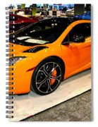 Mclaren 12c Coupe Spiral Notebook
