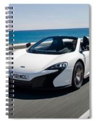 Mclaren 650s Spider Spiral Notebook