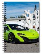 Mclaren 675lt Spiral Notebook