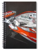 Mclaren F1 Alonso Spiral Notebook