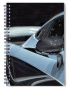 Mclaren P1 Spiral Notebook