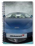Mclaren Sports Car Spiral Notebook