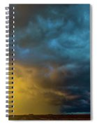 Mcluvn Nebraska Thunderstorms 049 Spiral Notebook