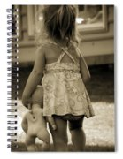 Me And My Baby Spiral Notebook