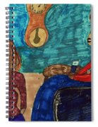 Me And My Granddaughter Spiral Notebook