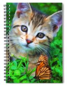 Me And My Monarch Spiral Notebook