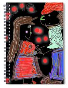 Me And You By Kathy Barney Spiral Notebook