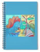 Me-bird In Paradise Spiral Notebook