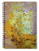 Meadow Flowers Abstract Spiral Notebook
