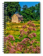 Meadow House At Longwood Spiral Notebook