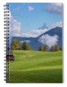 Meadow In Alpe Di Siusi Spiral Notebook
