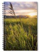 Meadow Light Spiral Notebook