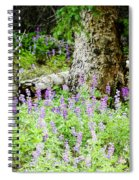 Meadow Lupine Spiral Notebook