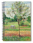 Meadow With Grey Horse, Eragny Spiral Notebook