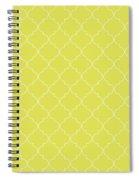Meadowlark Quatrefoil Spiral Notebook